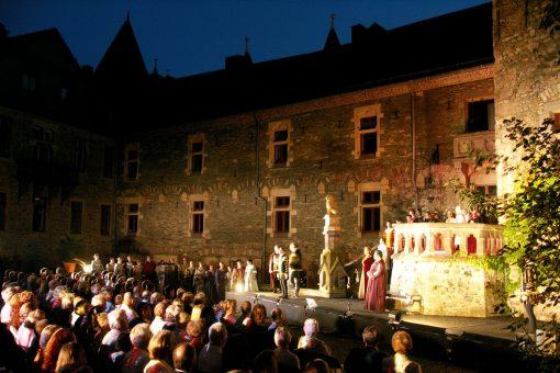 Oper auf Schloss Braunfels © Braunfelser Kur GmbH